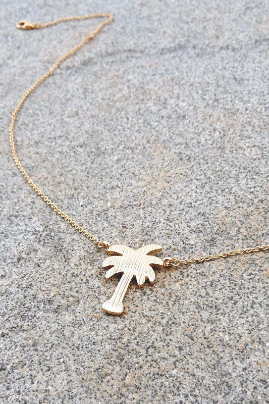Palm Springs Necklace - Gold