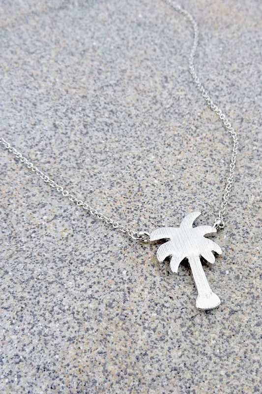 Palm Springs Necklace - Silver