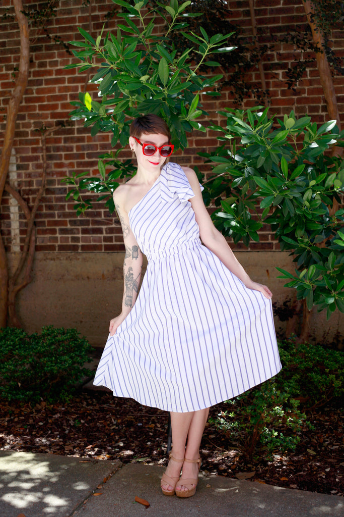 Sail Away Striped Dress