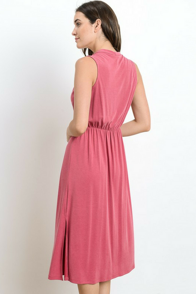 Beach Bound Dress - Pink