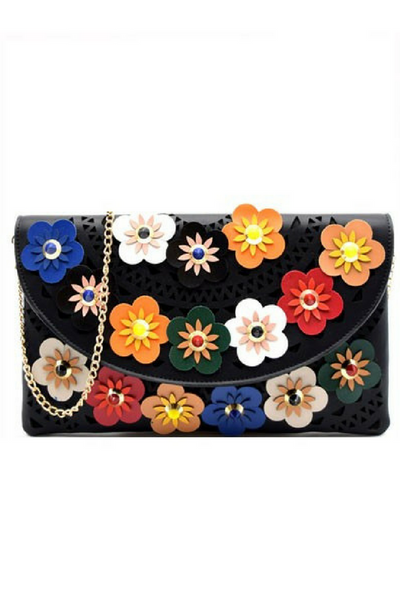 Flower Power Clutch