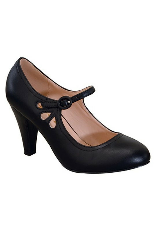 Fancy Footwork Heel - Black