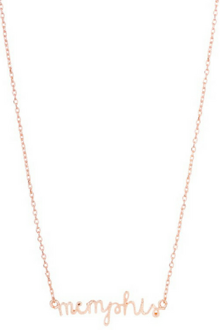 Memphis Necklace - Rose Gold