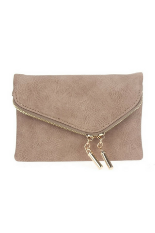 Night Out Clutch - Taupe