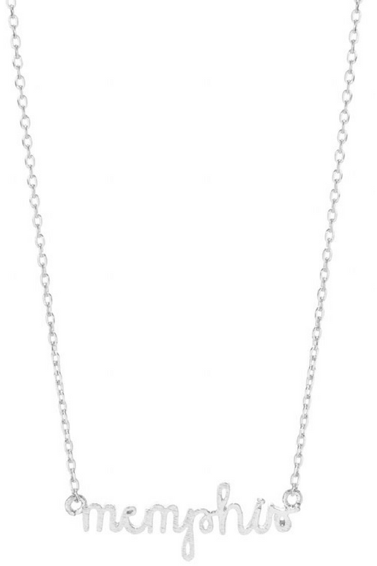Memphis Necklace - Silver