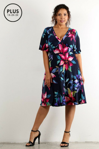 Brilliant Blossoms Dress