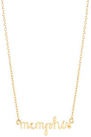 Memphis Necklace - Gold