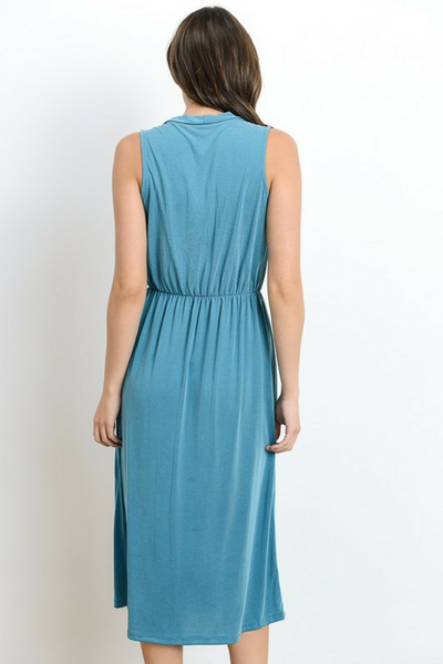 Beach Bound Dress - Teal