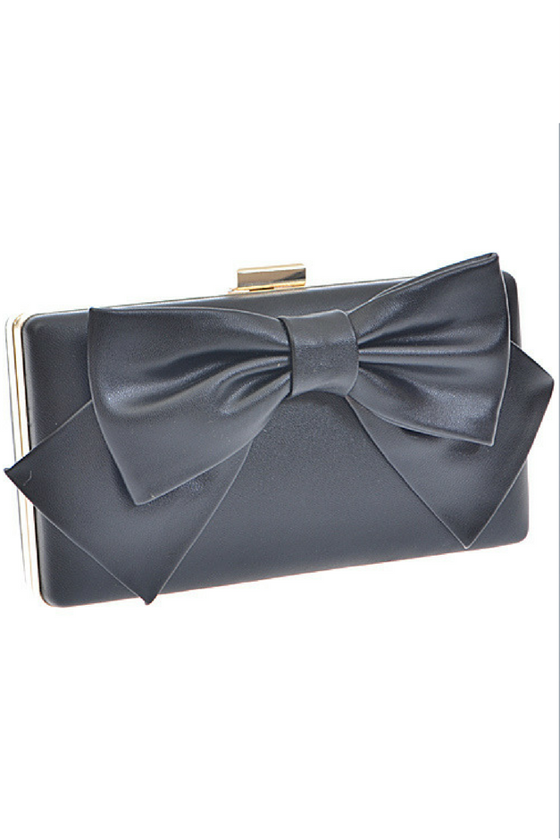 Dainty Darling Clutch - Black