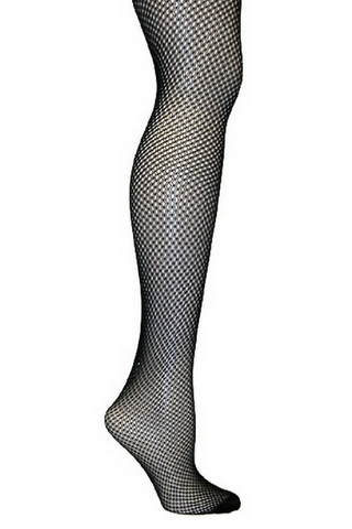 Double Fishnet Tights - Plus Size
