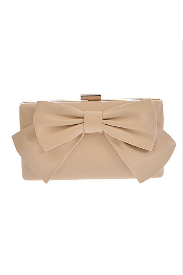 Dainty Darling Clutch - Nude