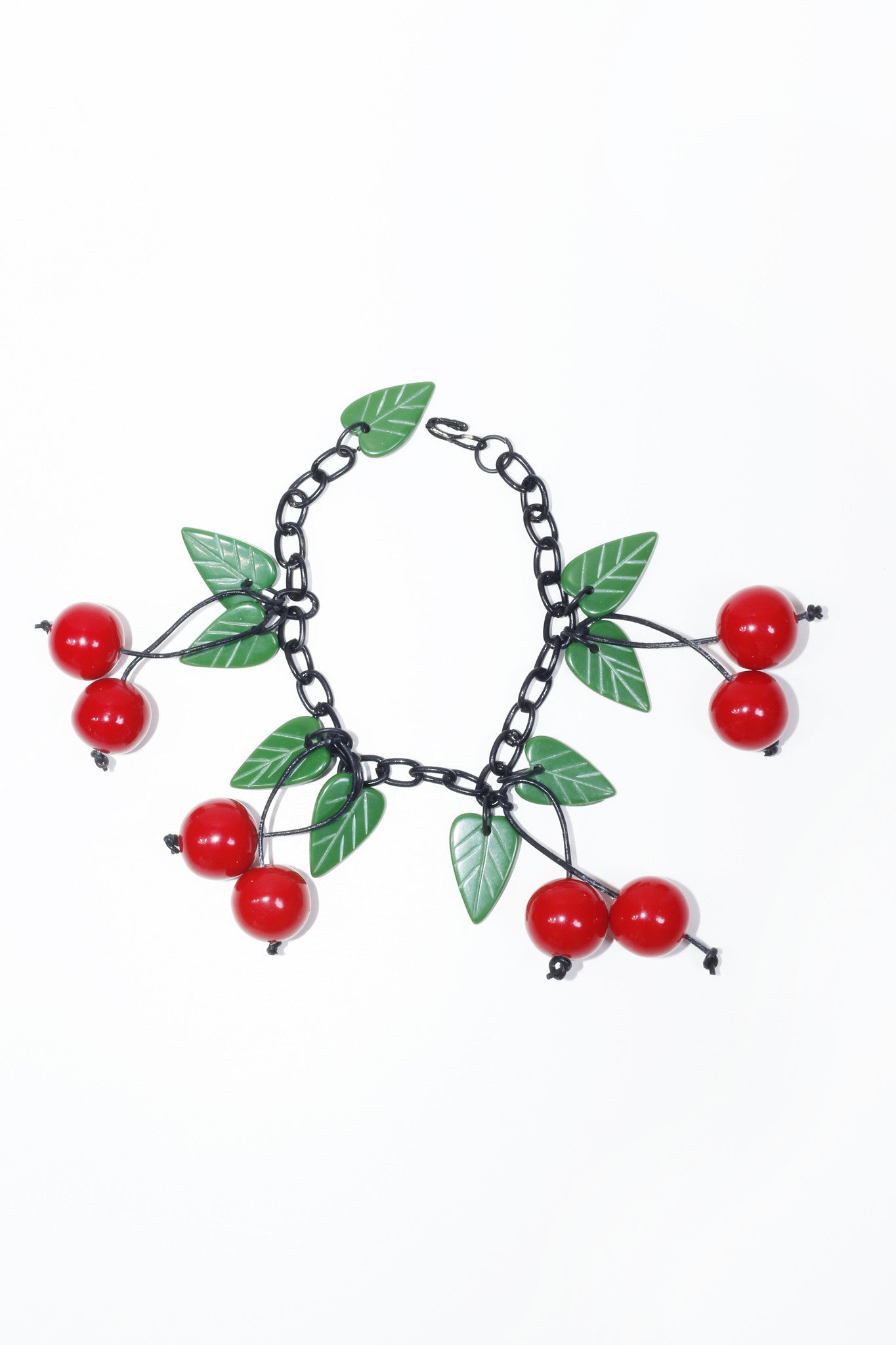 Fakelite Cherries Bracelet - Red