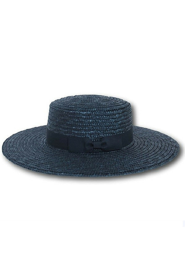 Boating Party Hat - Black