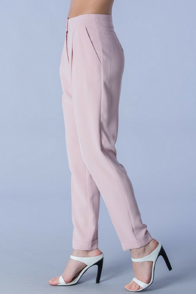 Dusty Rose Trousers