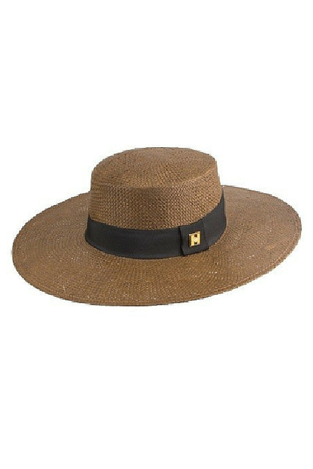 Skipper Boater Hat