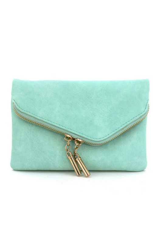 Night Out Clutch - Mint