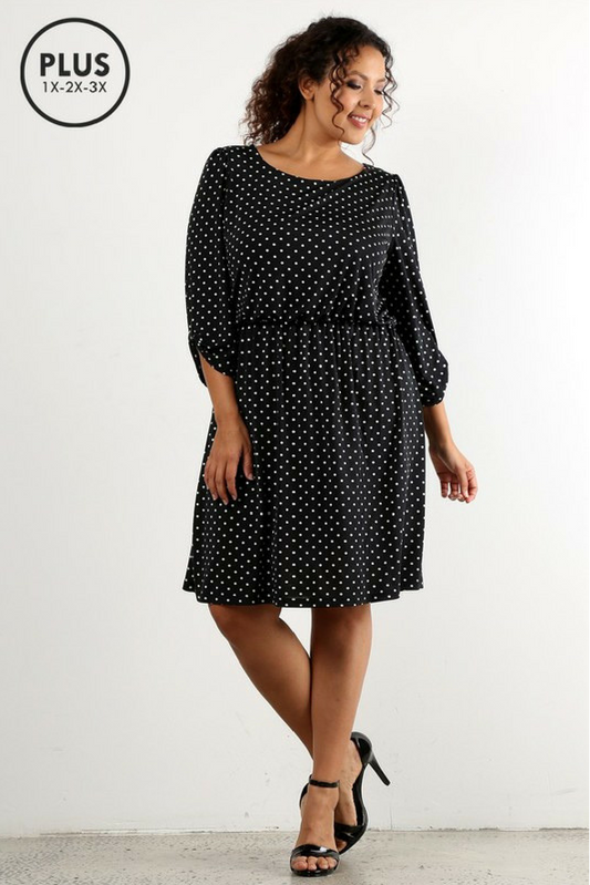 Patty Polka Dress