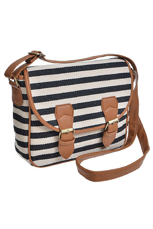 Nautical Stripe Purse