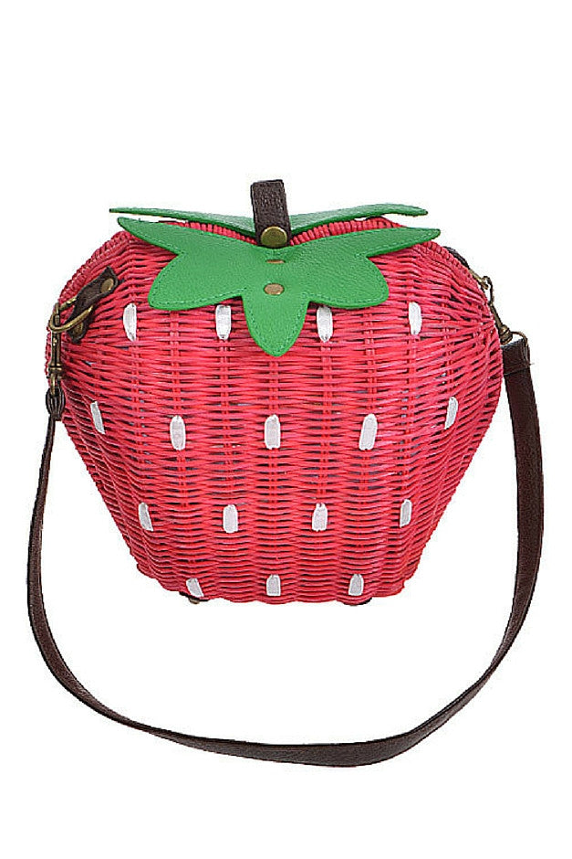 Strawberry Patch Purse