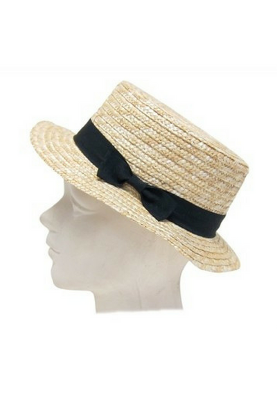 Jaunty Boater Hat
