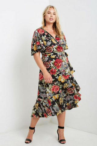 Laurel Wrap Dress
