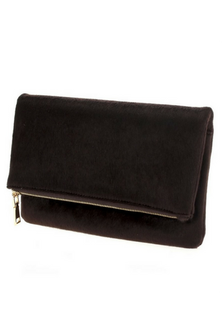 Stephanie Clutch - Chocolate