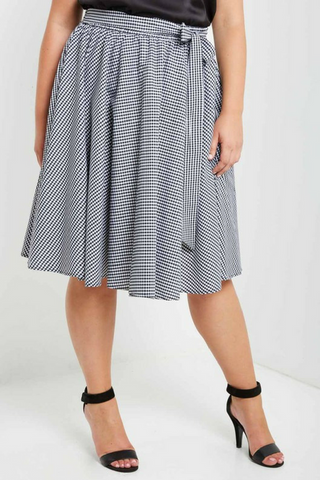 Picnic Time Gingham Skirt