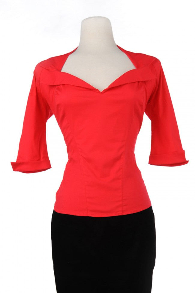 Business First Top - Red