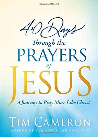 Products charisma shop 40 days through the prayers of jesus fandeluxe Choice Image