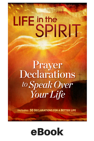 eBook - Prayer Declarations to Speak Over Your Life