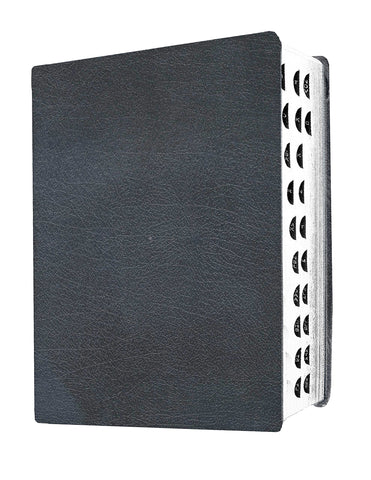 MEV Giant Print Bible - Black - Flex Cover - Indexed with Thumb Cuts