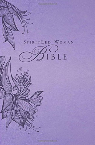 MEV SpiritLed Woman (SLW) Bible - Lavender - Flex Cover