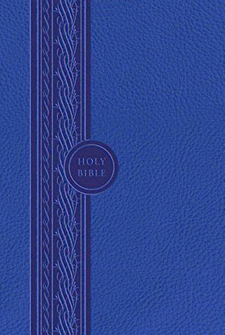 MEV Thinline Bible - Blue - Flex Cover
