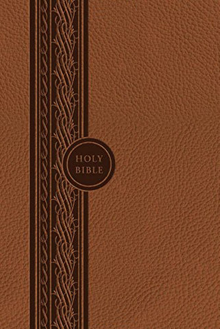 MEV Thinline Bible - Brown - Flex Cover