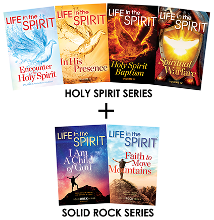 Life In The Spirit - Holy Spirit Series + Solid Rock Series - BUY A SET, GET A SET!!