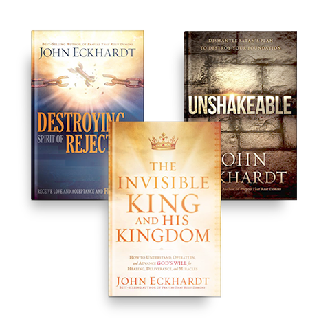 John Eckhardt Unshakeable Bundle