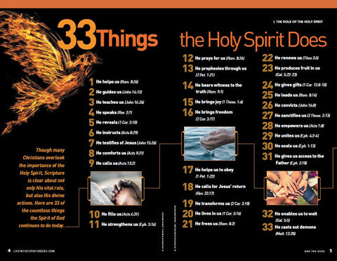 BULK (10-99 Copies Only) Life In The Spirit Vol I: Encounter The Holy Spirit