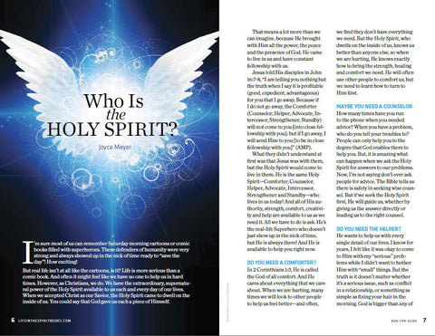 eBook - Holy Spirit Series vol.1