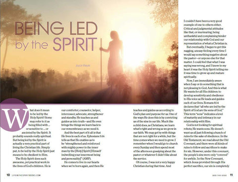 Life In The Spirit Vol I: Encounter The Holy Spirit