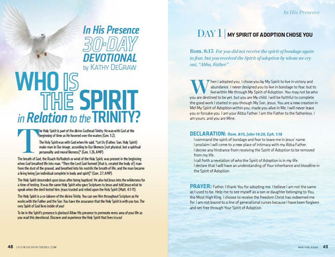 Holy Spirit Series VOL.2 - BULK - (10 copies)