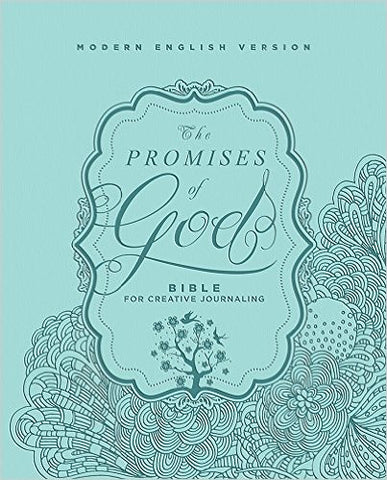 The Promises of God Creative Journaling Bible: Modern English Version (MEV) - Imitation Leather