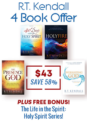 R.T. Kendall 4 Book Offer + FREE BONUS - Holy Spirit Series