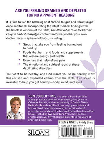 New Bible Cure for Chronic Fatigue and Fibromyalgia