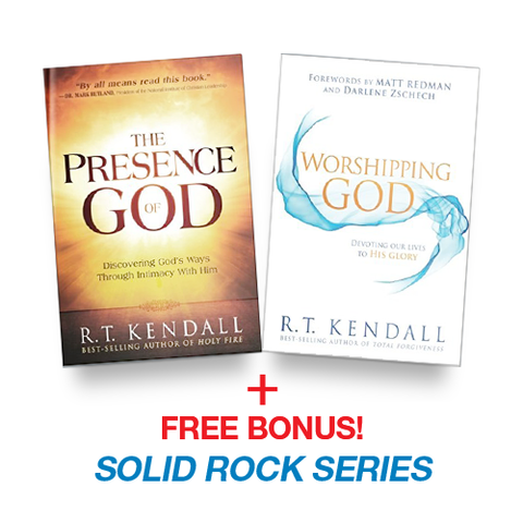 The Presence of God + Worshipping God + FREE BONUS - Solid Rock Series