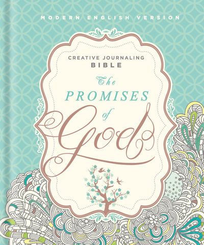 The Promises of God Creative Journaling Bible: Modern English Version (MEV) - Hardcover