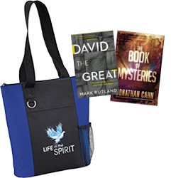 Life In The Spirit Tote Bag + David the Great + The Book of Mysteries