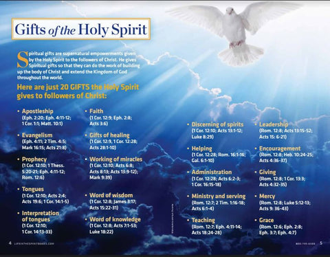 Holy Spirit Series VOL.3 - BULK - (10 copies)