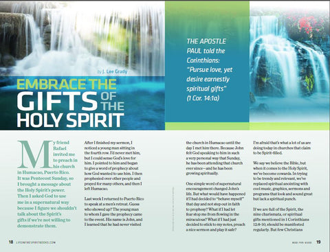 Life In The Spirit: Holy Spirit Baptism