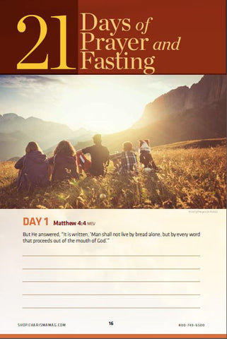 eBook - Prayer & Fasting
