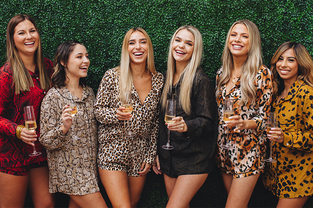 Behind the Scenes: A Bubbly PJ Party